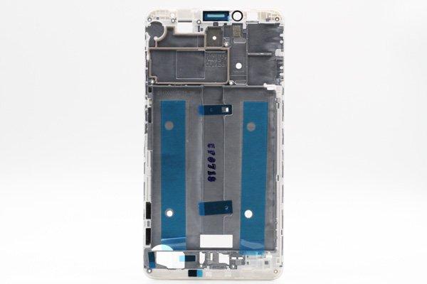 【ネコポス送料無料】Huawei Ascend Mate7 フロントフレーム ホワイト [2]