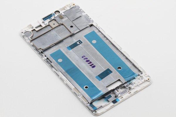 【ネコポス送料無料】Huawei Ascend Mate7 フロントフレーム ホワイト [4]