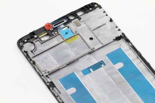 【ネコポス送料無料】Huawei Ascend Mate7 フロントフレーム ブラック [8]