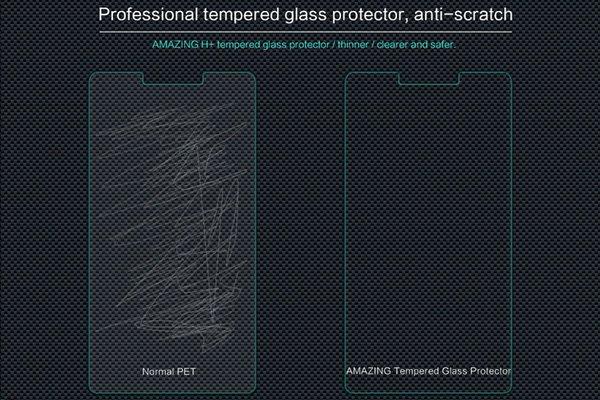 【ネコポス送料無料】OPPO R7 Plus 強化ガラスフィルム ナノコーティング 硬度9H [4]
