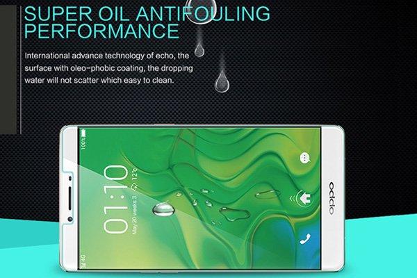【ネコポス送料無料】OPPO R7 Plus 強化ガラスフィルム ナノコーティング 硬度9H [5]