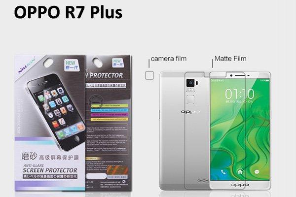 【ネコポス送料無料】OPPO R7 Plus 液晶保護フィルムセット アンチグレアタイプ [1]