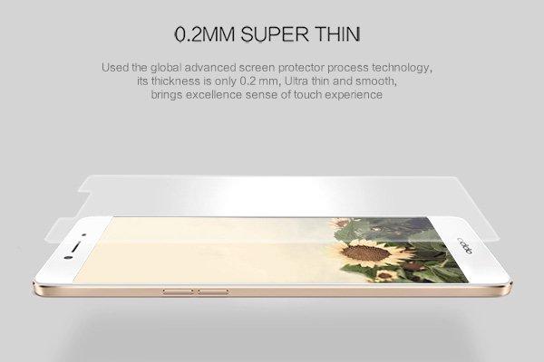 【ネコポス送料無料】OPPO R7S 強化ガラスフィルム ナノコーティング 硬度9H [2]