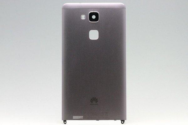 【ネコポス送料無料】Huawei Ascend Mate7 バックカバー ブラック [1]