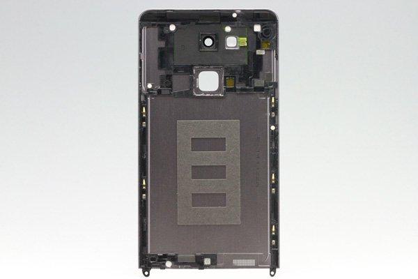 【ネコポス送料無料】Huawei Ascend Mate7 バックカバー ブラック [2]