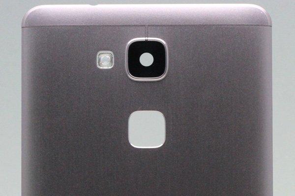 【ネコポス送料無料】Huawei Ascend Mate7 バックカバー ブラック [3]