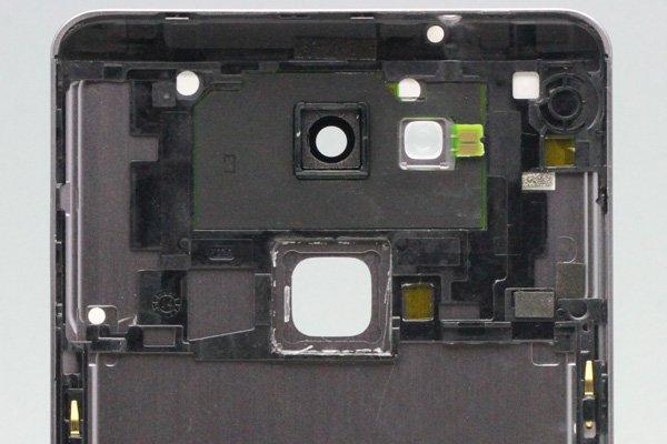 【ネコポス送料無料】Huawei Ascend Mate7 バックカバー ブラック [4]