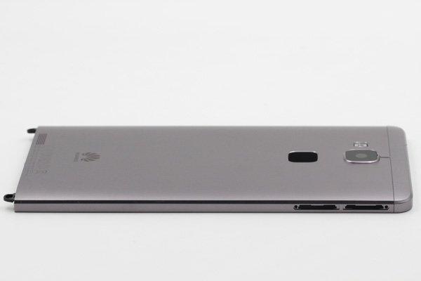 【ネコポス送料無料】Huawei Ascend Mate7 バックカバー ブラック [6]