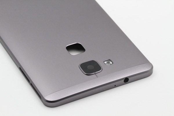 【ネコポス送料無料】Huawei Ascend Mate7 バックカバー ブラック [8]