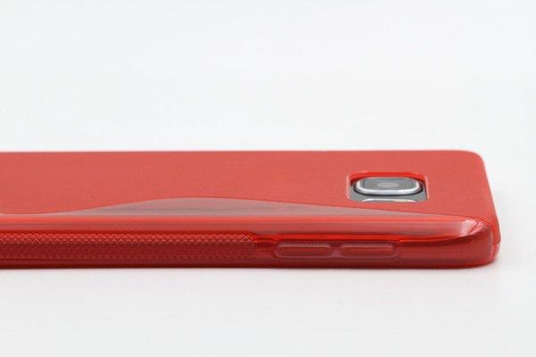 【ネコポス送料無料】SAMSUNG Galaxy Note5 用TPUケース 液晶保護フィルム付き 全8色  [17]