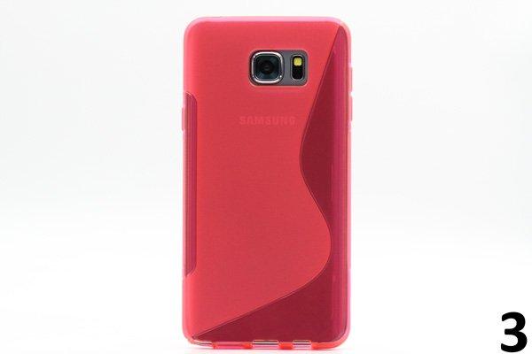 【ネコポス送料無料】SAMSUNG Galaxy Note5 用TPUケース 液晶保護フィルム付き 全8色  [6]