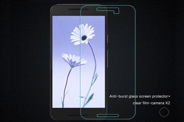 【ネコポス送料無料】Nexus5X 強化ガラスフィルム ナノコーティング 硬度9H  [1]