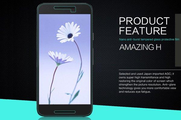 【ネコポス送料無料】Nexus5X 強化ガラスフィルム ナノコーティング 硬度9H  [2]