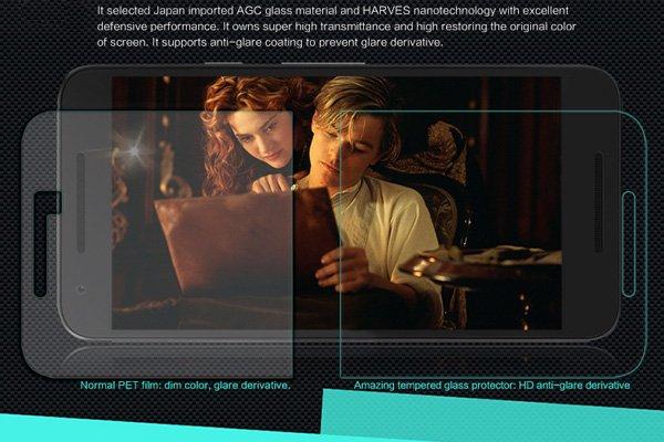 【ネコポス送料無料】Nexus5X 強化ガラスフィルム ナノコーティング 硬度9H  [3]