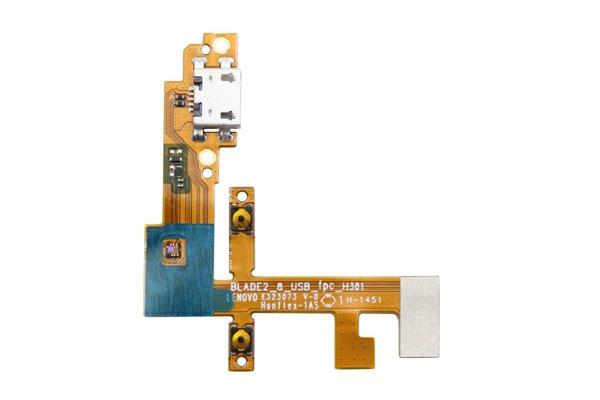 【ネコポス送料無料】Lenovo YOGA Tablet2-830F マイクロUSBコネクターケーブルASSY [1]