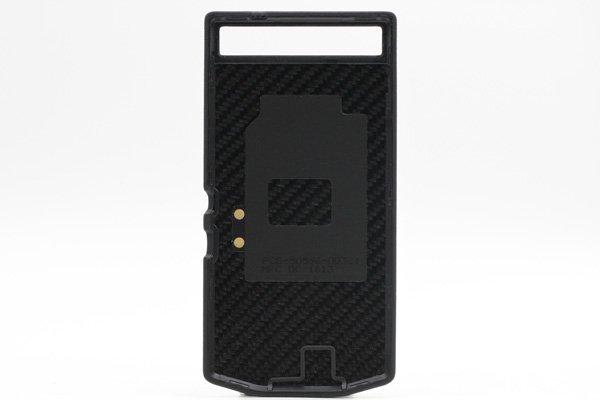 【ネコポス送料無料】BlackBerry Porsche Design P'9982 バックカバー ブラック  [2]