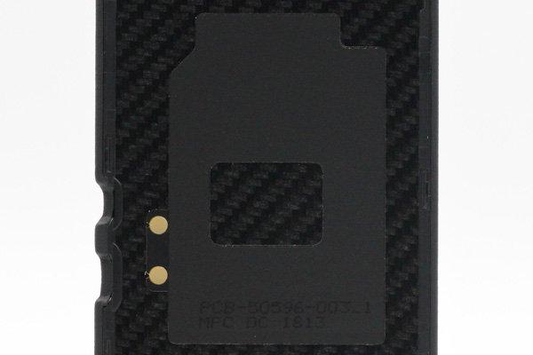 【ネコポス送料無料】BlackBerry Porsche Design P'9982 バックカバー ブラック  [4]