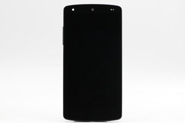 Google Nexus5 (LG D821) フロントパネルASSY 全2色 [3]