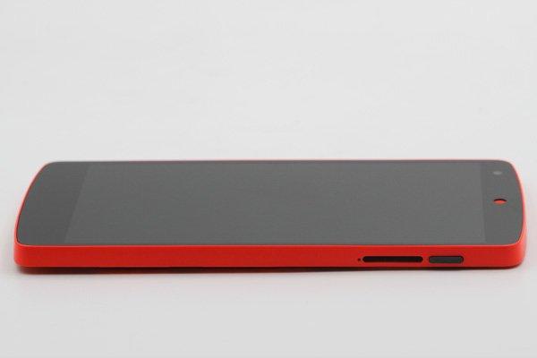 Google Nexus5 (LG D821) フロントパネルASSY 全2色 [5]