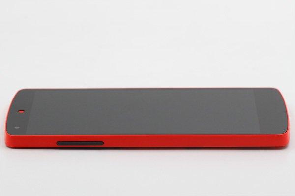 Google Nexus5 (LG D821) フロントパネルASSY 全2色 [6]