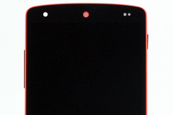 Google Nexus5 (LG D821) フロントパネルASSY 全2色 [8]