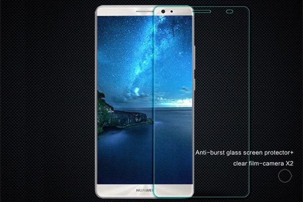 【ネコポス送料無料】Huawei Mate8 強化ガラスフィルム ナノコーティング 硬度9H  [1]