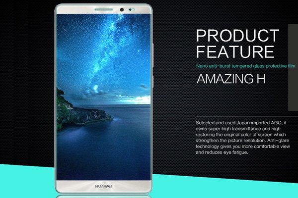 【ネコポス送料無料】Huawei Mate8 強化ガラスフィルム ナノコーティング 硬度9H  [2]