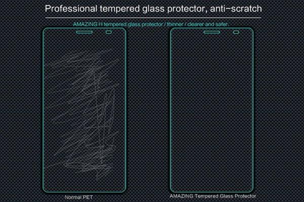 【ネコポス送料無料】Huawei Mate8 強化ガラスフィルム ナノコーティング 硬度9H  [4]