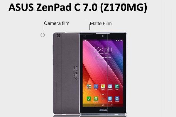 【ネコポス送料無料】ASUS ZenPad C 7.0 (Z170MG) 液晶保護フィルムセット アンチグレアタイプ [1]