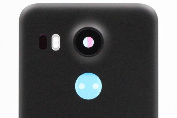 【ネコポス送料無料】Google Nexus5X バックカバーASSY ブラック [3]