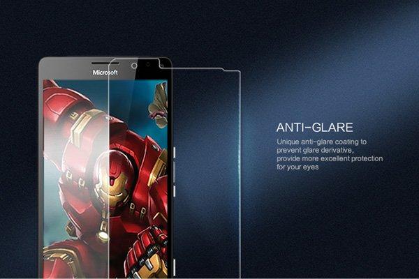 【ネコポス送料無料】Microsoft Lumia 950XL 強化ガラスフィルム ナノコーティング 硬度9H [6]