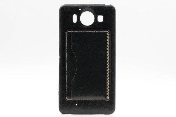 【ネコポス送料無料】Microsoft Lumia950 レザーケース全5色  [5]