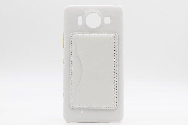 【ネコポス送料無料】Microsoft Lumia950 レザーケース全5色  [7]