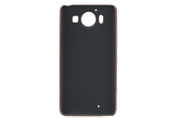 【ネコポス送料無料】Microsoft Lumia950 レザーケース全5色  [10]
