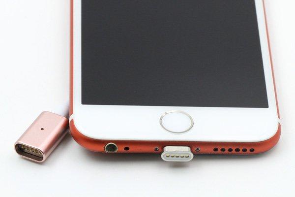 【ネコポス送料無料】iPhone / Android 対応 マグネットケーブル 充電&同期可能 全3色 [11]