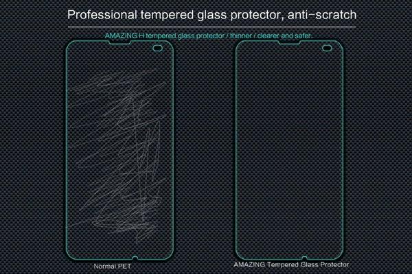【ネコポス送料無料】Microsoft Lumia 550 強化ガラスフィルム ナノコーティング 硬度9H [4]