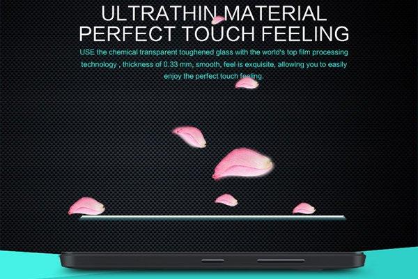 【ネコポス送料無料】Microsoft Lumia 550 強化ガラスフィルム ナノコーティング 硬度9H [6]