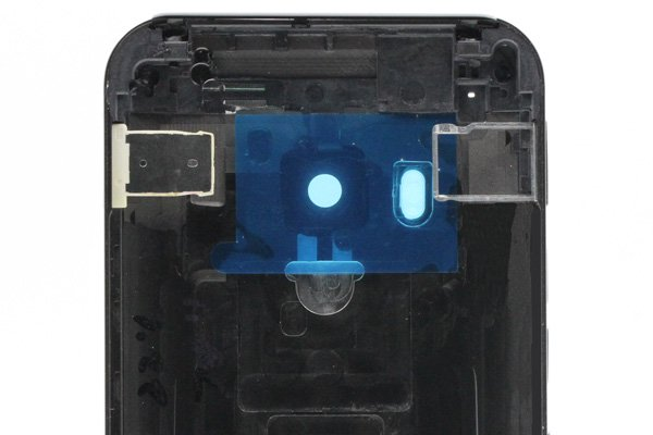 【ネコポス送料無料】HTC One (M9) バックカバーASSY グレー [3]