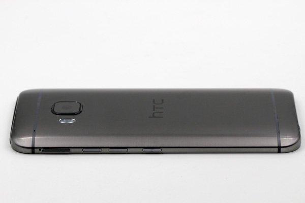【ネコポス送料無料】HTC One (M9) バックカバーASSY グレー [4]