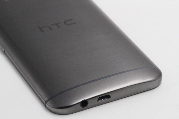 【ネコポス送料無料】HTC One (M9) バックカバーASSY グレー [5]