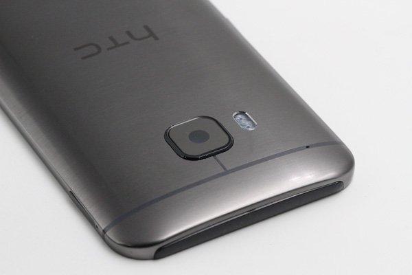 【ネコポス送料無料】HTC One (M9) バックカバーASSY グレー [6]