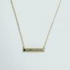 パイライト・ステートメントネックレス - [from LA] Pyrite Statement Necklace (品番ES-9)