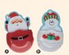 クリスマス 鉛筆&消しゴム サンタ