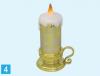 LED ライトキャンドル型 聖家族(ゴールド)(送料込みの値段)