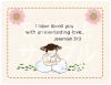 御言葉カード「りとるしーど」 エレミヤ31:3 (表裏日英対訳)