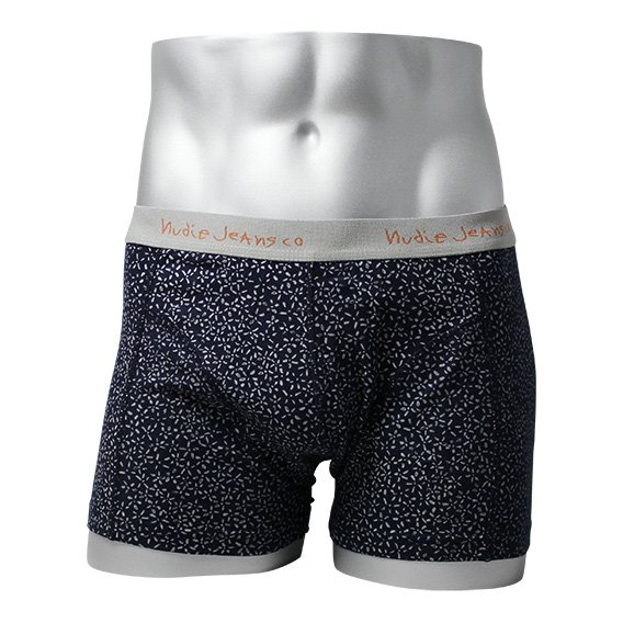 ヌーディージーンズ:NUDIE JEANS ORGANIC COTTON BOXER  (ネイビー)