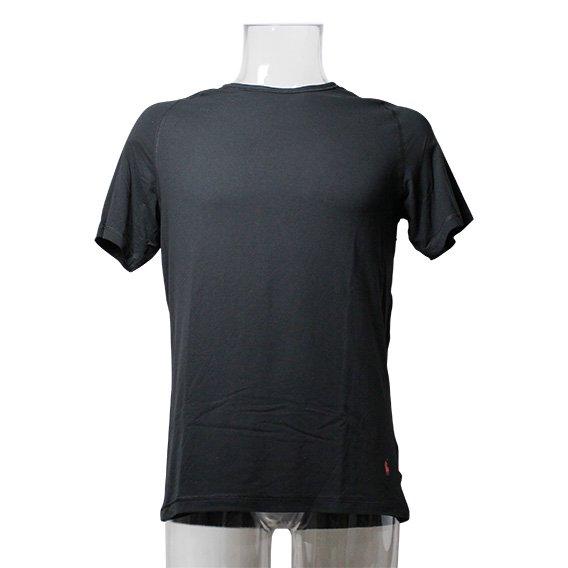 ポロラルフローレン :X-TEMP UNDERWEAR RAGLAN CREW Tシャツ(ポロブラック)