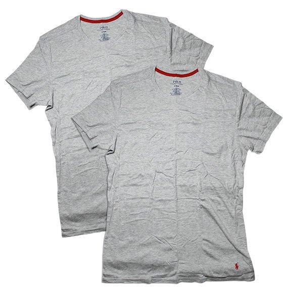 ポロラルフローレン :SUPREME COMFORT COLLECTION 2 CREWS Tシャツ(アンドーバーヘザー)