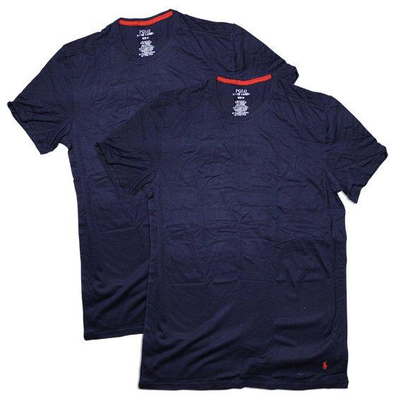 ポロラルフローレン :SUPREME COMFORT COLLECTION 2 CREWS Tシャツ(クルーズネイビー)