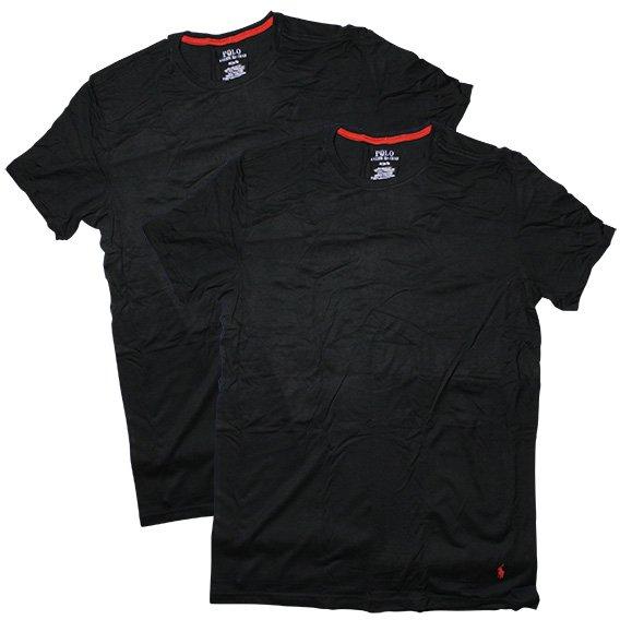 ポロラルフローレン :SUPREME COMFORT COLLECTION 2 CREWS Tシャツ(ポロブラック)
